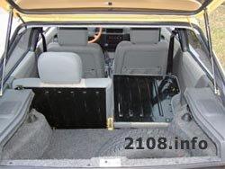Багажник ВАЗ 2108 и 2109