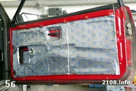 Шумоизоляция салона ваз 2108 2109 и 21099