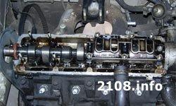 Головка блока цилиндров ВАЗ 2108