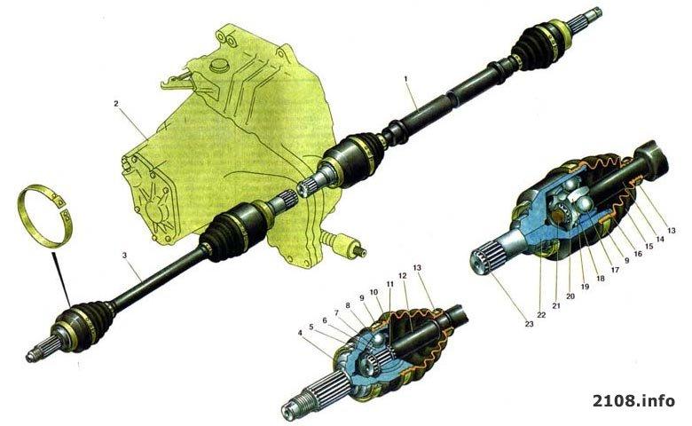 Устройство тормозной системы на ВАЗ 2110 - LuxVAZ