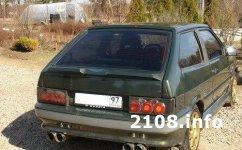 Тюнинг ВАЗ 2113. Турбо-тринашка