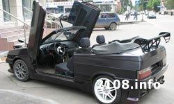 Тюнинг ВАЗ 2108 Кабриолет