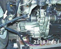 Установка коробки передач ВАЗ 2108-2109