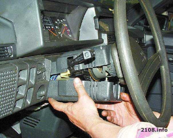 ремонт рулевой колонки ваз 21099