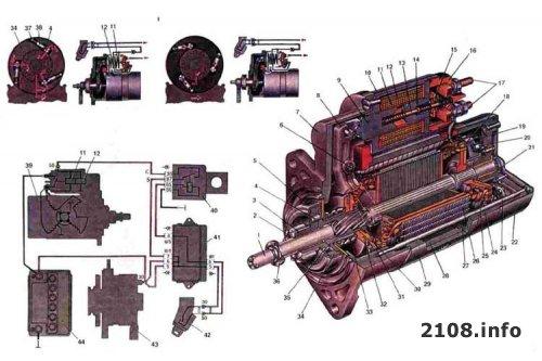 1261459623 starter - Схема подключения стартера ваз 2109 карбюратор