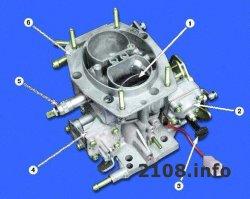 Разборка карбюратора ВАЗ 2108-2109-21099