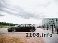 Заниженный ВАЗ 2114