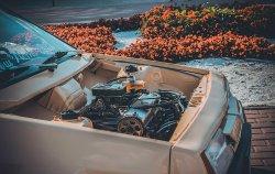 Занижение и чистый моторный отсек на ВАЗ 2108
