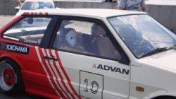 ВАЗ 2108 в японском стиле босозоку. Русский JDM